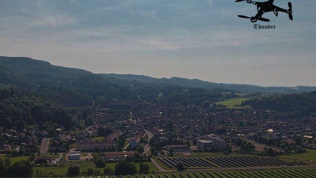 Harztor - ein Blick  on oben